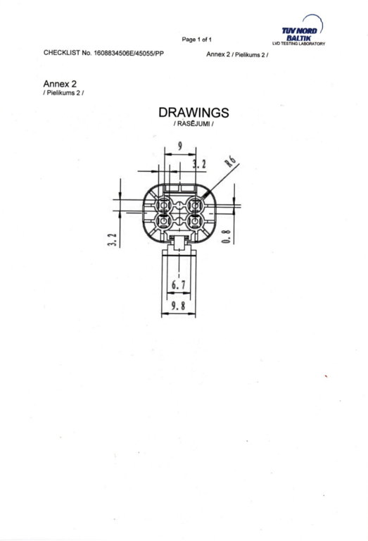 7811672 4-pin plug for man - plugs of lighting systems and electrical equipment