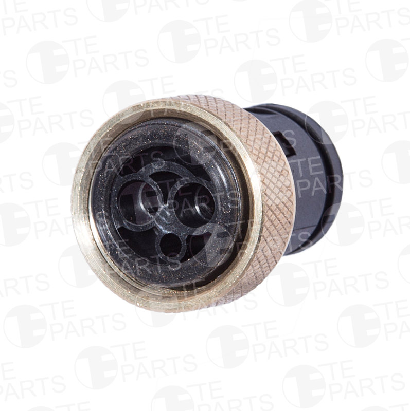 7800283 2-pin Plug with Brass Nut M24X1. for MERCEDES BENZ / SCANIA