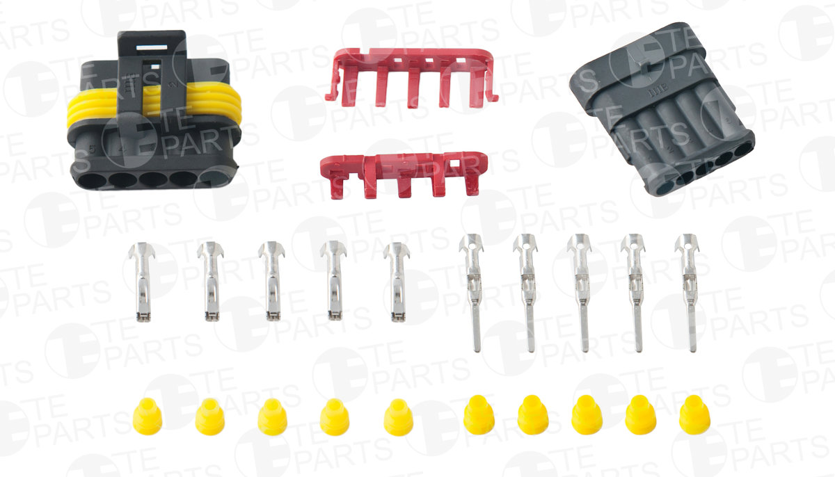 7112005 Set of 5-pin Plugs