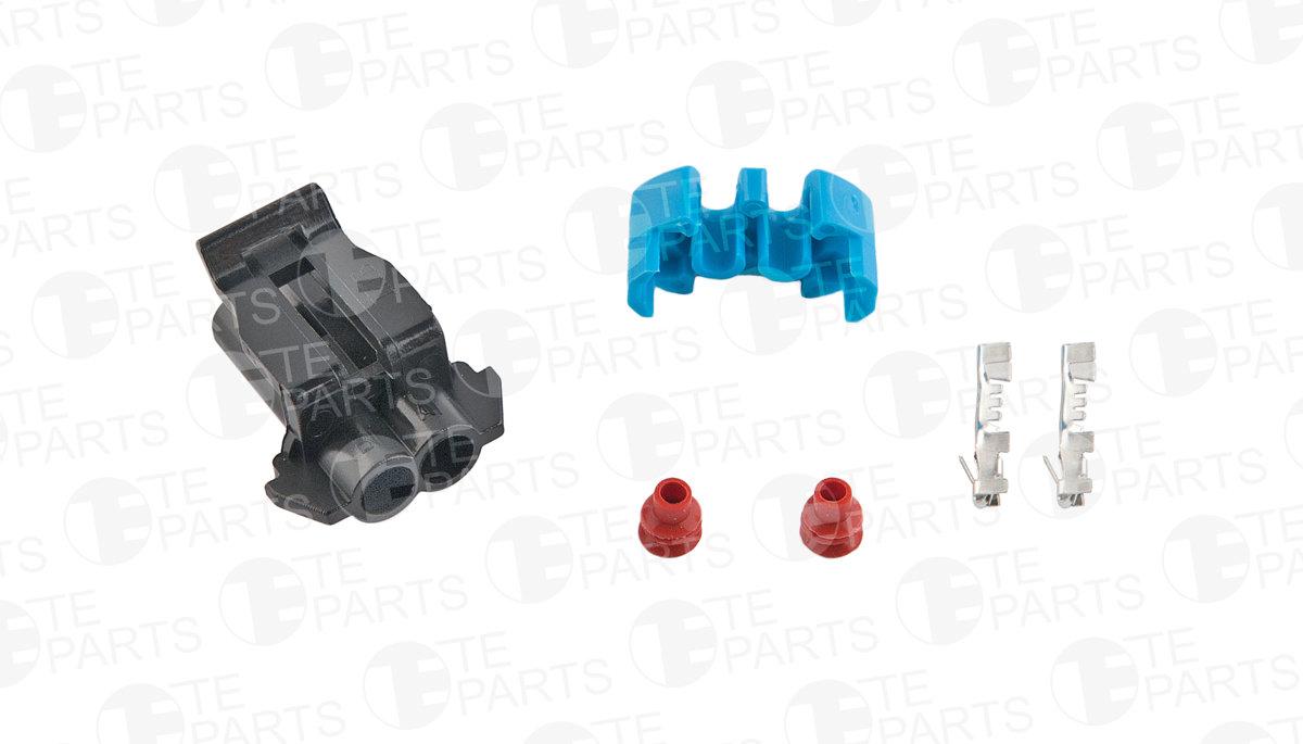 7730582 2-pin Plug for GM / HYUNDAI / KIA / FORD / NISSAN