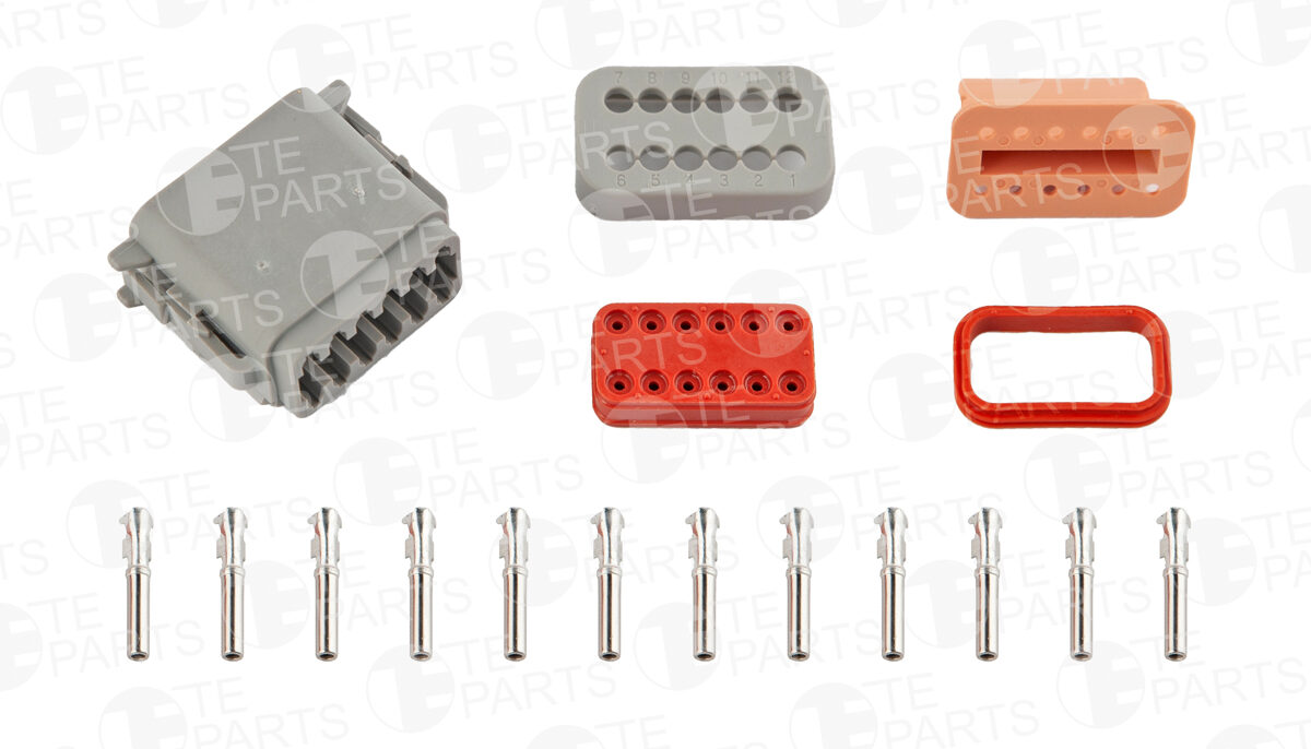 7802128 Разъем 12-pin для SCANIA / VOLVO