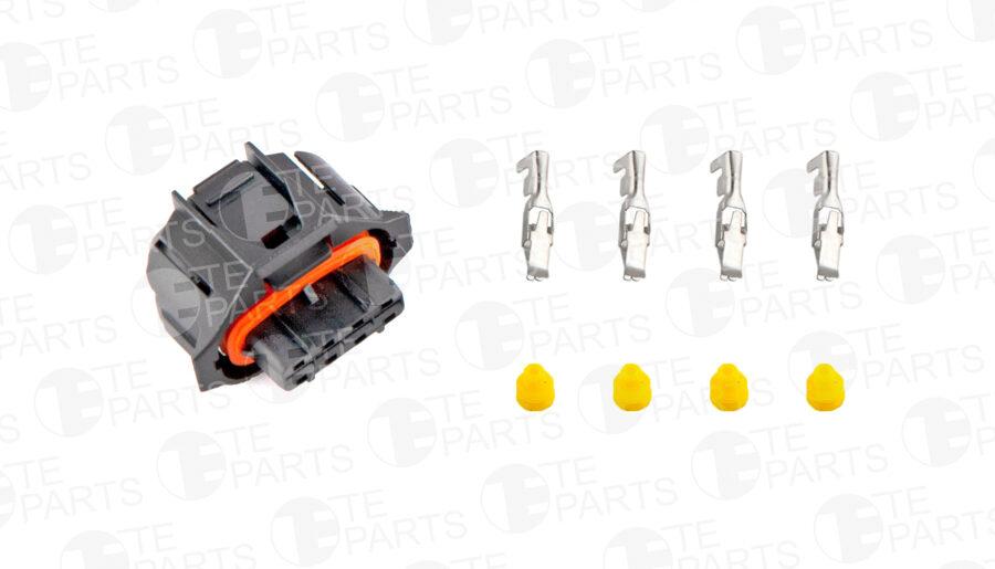 7343736 Разъем 4-pin для DAF / IVECO / MAN / MERCEDES-BENZ / RENAULT / FORD / BMW