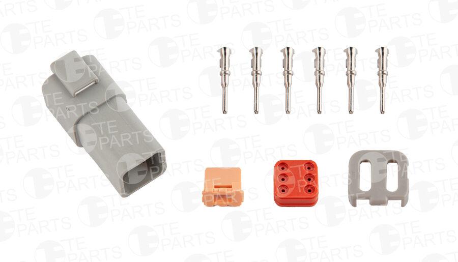 7802163 Разъем 6-pin для SCANIA / RENAULT / VOLVO