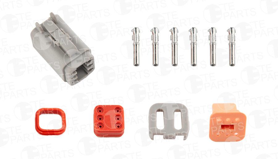 7802166 Разъем 6-pin для SCANIA / RENAULT / VOLVO