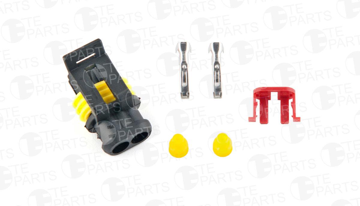 7810133 Разъём 2-pin для IVECO / RVI / VOLVO / SCANIA